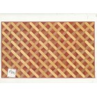 Faux Parquet Wood 34603 floor sheet dollhouse 1pc