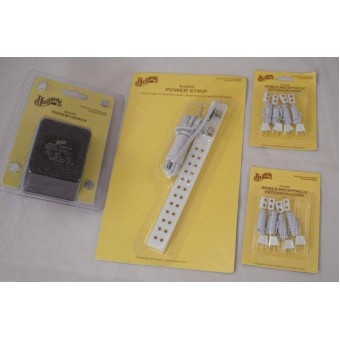 Electrical Set: Transformer - Power Strip - Receptacles -  2219 2203 2@2202