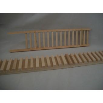 Railing Assembly Gluing Jig #2   dollhouse & miniatures