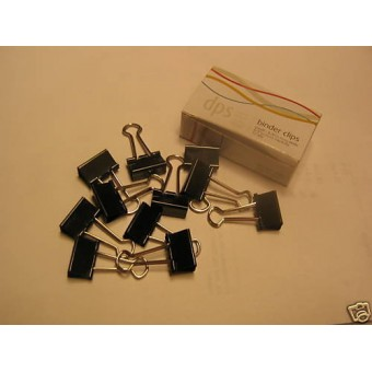 Binder Clips clamp dollhouse building supplies 1dz