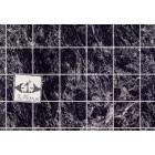 Floor Tile Sheet - Black Marble MH5956 dollhouse 8.5x11 card stock 1/12 scale