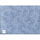Marble Tile - blue  paper flooring Jackson's Miniatures dollhouse 1pc JM17