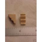 Corbel #1  wood 1/48 O scale model building parts 10pc brace basswood