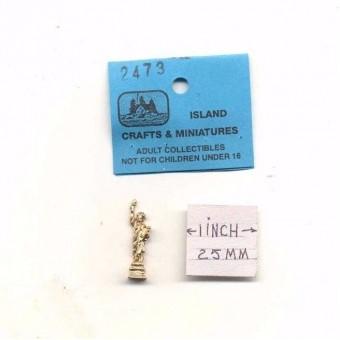 Statue Of Liberty 1/12 scale dollhouse cast metal miniature ISL2473