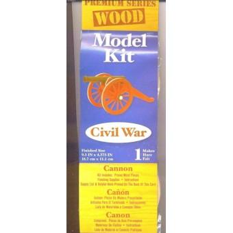 Kit- Civil War Cannon Wooden Kit - #9193-01