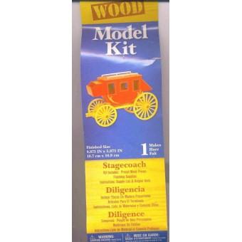 Kit- Stagecoach Wooden Kit - #9193-02