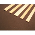 "Baseboard 1 molding basswood dollhouse trim 1/12 scale MW12001  3pcs 23"" long"