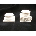 Column Base & Top Set  UMCS2 polyresin dollhouse miniature 1/12 scale