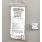 Bricks Corner  white plaster w/ solid color miniature 125pk 1/12 scale AM0203CNR