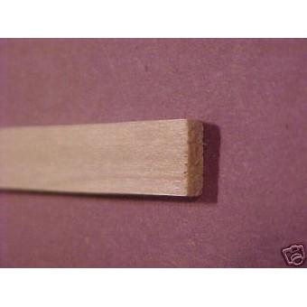 Baseboard - Plain / Economy Dollhouse basswood Trim MW12005  6pcs 1/12 scale
