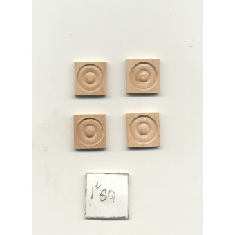 Fashion Doll Door & Window Corner Head Blocks CLA70236 dollhouse 4pc 1/8 scale