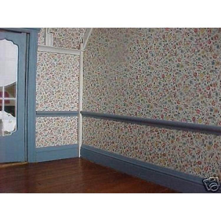 Superior 2 Pc Chair Rail Part - 9: Chair Rail #1 Chairrail Basswood Miniature Dollhouse Trim Molding 2pc  MW12011