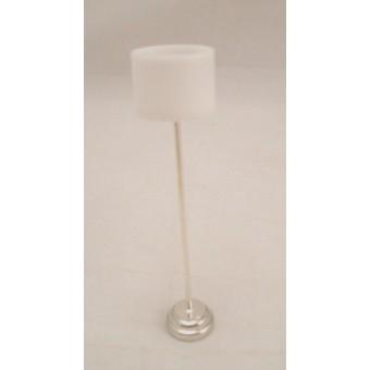 Light  LED Chrome Floor Lamp 2311  Houseworks dollhouse miniature 1/12 scale