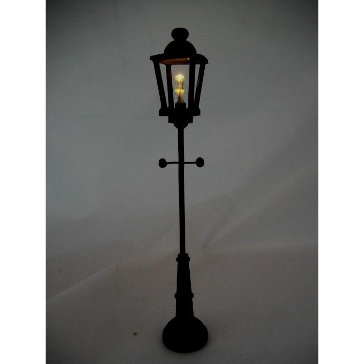 Battery Dollhouse Lights Uk: LED Black Yard Lamp 2310 Replaceable Battery