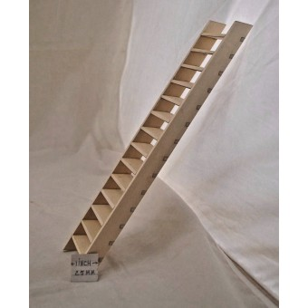 """Stairs 60 degrees Dollhouse steps  for 10"""" Ceiling 1/12 scale made in  USA #88"""