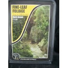 Foliage - Fine Leaf  Dark Green scenery O Scale F1130