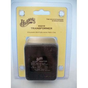 Electrical 12volt  20 Bulb Transformer dollhouse  #2219  Houseworks 2 screw type
