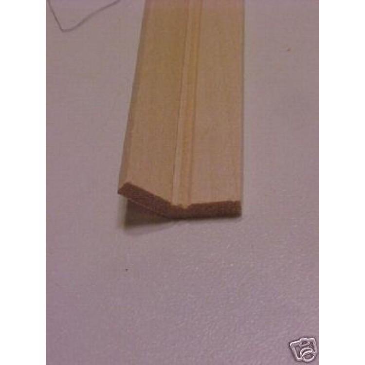 135 Degree Corner Edge Molding Trim Dollhouse 1pc 23