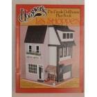 Les Shoppes Store dollhouse Plans Book 1-12 scale  Houseworks