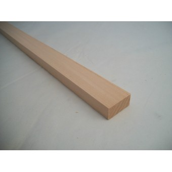 "1/2  x 1-1/4  x  23"" Model Lumber basswood architect timber 1p craft MW"