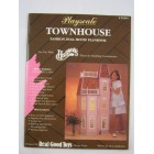 Playscale Townhouse Plans Real Good Toys    fits Barbie  apx 1/6 to 1/8 scale