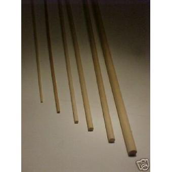"3/8""  9.5mm birch Dowel Rod dollhouse supplies 2pc."