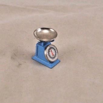 "Kitchen / Grocery / Merchant Scale - dollhouse miniature 1/12"" scale G7047 metal"