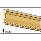 Cornice Crown Molding CLA77262 miniature dollhouse 1/12 scale 1pc