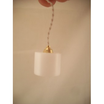 Light  LED Modern Hanging Lamp 2316 replaceable battery dollhouse 1/12 scale