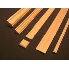 "Fashion Doll 1""  Baseboard  #1    miniature dollhouse trim  4pcs 1/12 scale MW"