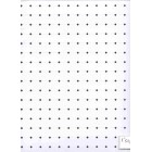 Black & White Octagon Plastic Tile Floor Sheet dollhouse  #7311 1.12 scale 11x17