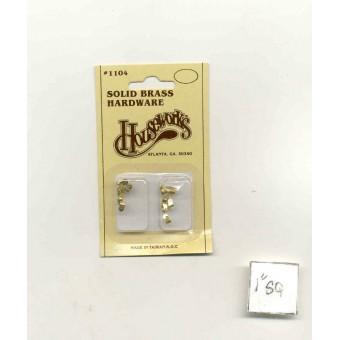 Casters 1104 miniature dollhouse hardware 12pcs Houseworks 1/12 scale metal