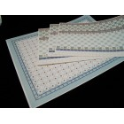 Tile Wall & Flooring Set  34486 covers 1 dollhouse room World & Model 1/12 scale