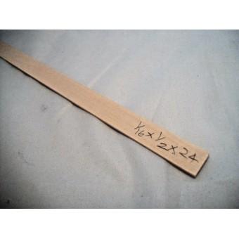 "1/16  x 1/2 x  23"" Model Lumber Strip Wood Dollhouse Supplies 2pcs Basswood  #40"