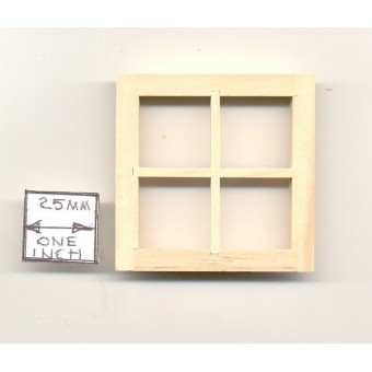 Dormer Window 5004  wooden dollhouse miniature 1:12 scale 1pc Houseworks