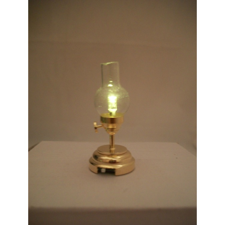 Light LED Hurricane Lamp 2302 Replaceable Battery