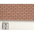 "Ceramic Brick Sheet MH5400 dollhouse 1/12 scale 6""x12"" Miniature House"