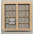 Window - Traditional Double 6/6 - 431 dollhouse miniature 1:12 scale USA made