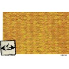 Red Brick HBK1R wallpaper O Scale 1/24 Scale 2pcs .Brodnax Prints