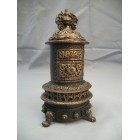 Victorian Parlor Stove large dollhouse T6031 resin 1/12 scale miniature