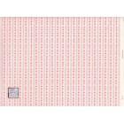 Nursery Hearts - 89D2 MiniGraphics miniature wallpaper dollhouse 1/12 scale