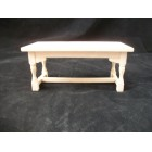 Kitchen WorkTable unfinished 1/12 scale miniature dollhouse furniture T4295