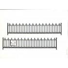 Half Scale - Gothic Railing 3955 1:24 Dollhouse miniature Grandt Line G Scale 2p