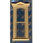 Victorian Hooded Slim Window  dollhouse miniature  75030 1pc 1/12 scale