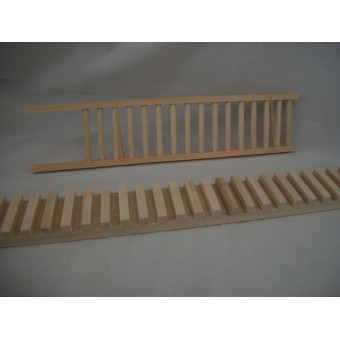 Railing Assembly Gluing Jig #2   dollhouse & miniatures