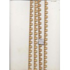 Half 1/24 Scale - Quoin Corner Stone 899HS - dollhouse miniature 1:12 scale USA