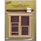 Window - Yorktown Double Working  Dollhouse miniature 5037 1/12 scale Houseworks