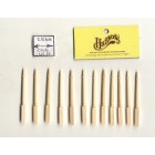 Spindles Balusters 7025 dollhouse wooden miniature 12pc 1/12 scale