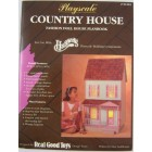 Playscale Country House Plans Real Good Toys f/ Barbie 91201