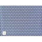 Art Nouveau - Ottoman blue wallpaper Jackson's Miniatures dollhouse 1pc JM92